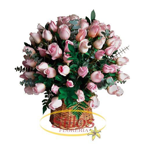 Flor Ramo rosas